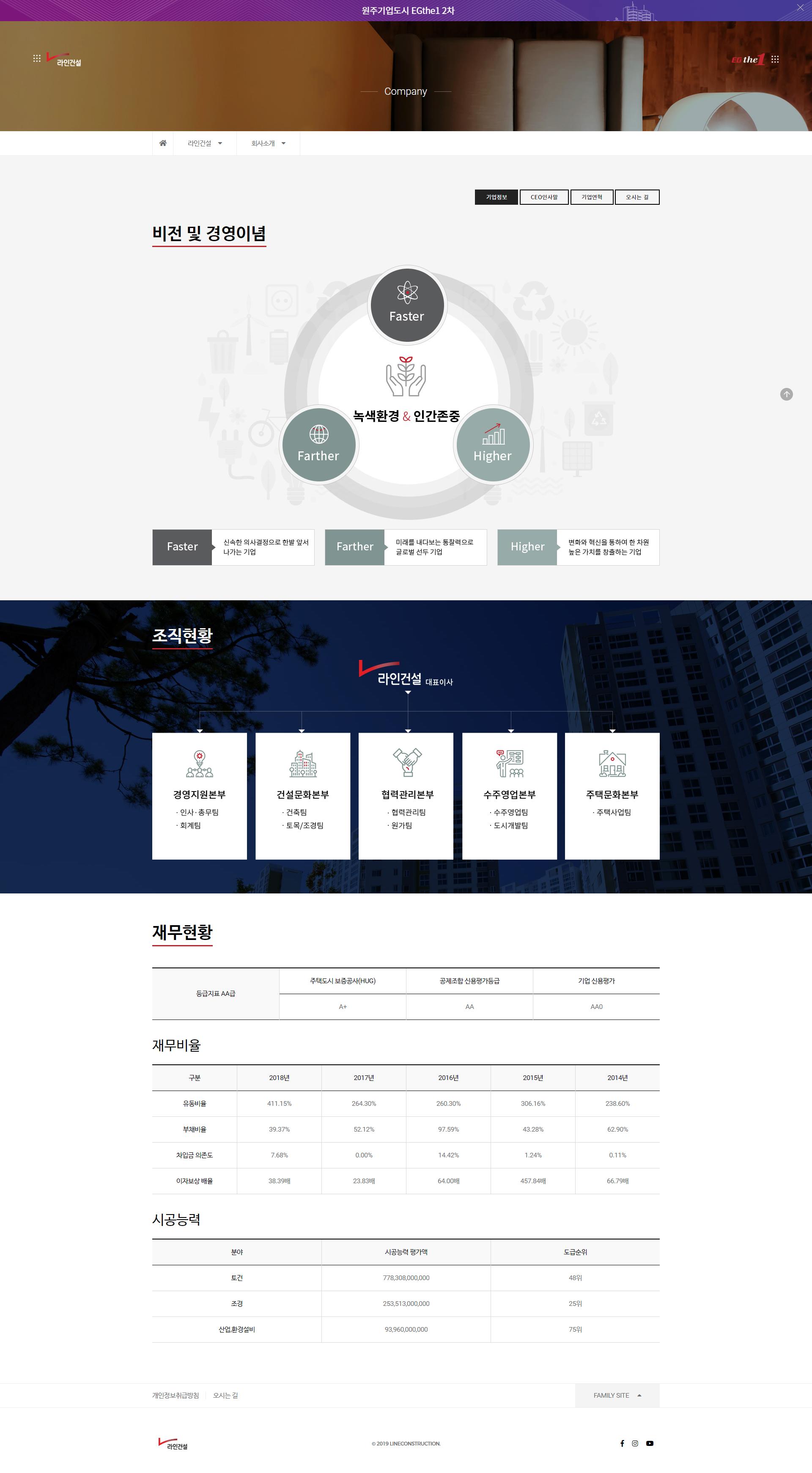 라인건설 + 이지더원 by 라임코코넛컴퍼니